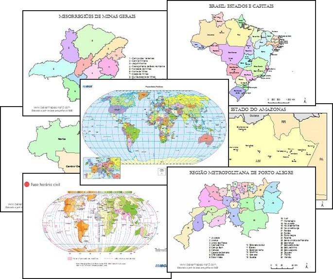 Galeria de Mapas