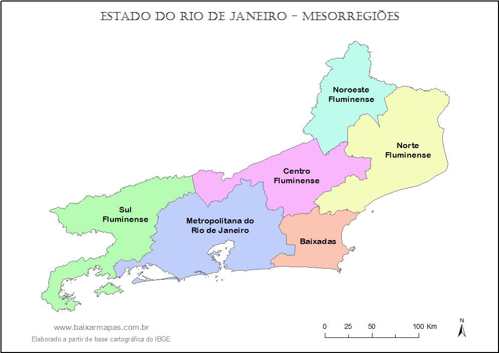 Resultado de imagem para mapa de localização do estado do rio de janeiro